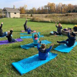 yoga sitting